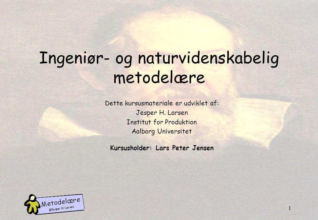 Ingeniør- og naturvidenskabelig metodelære