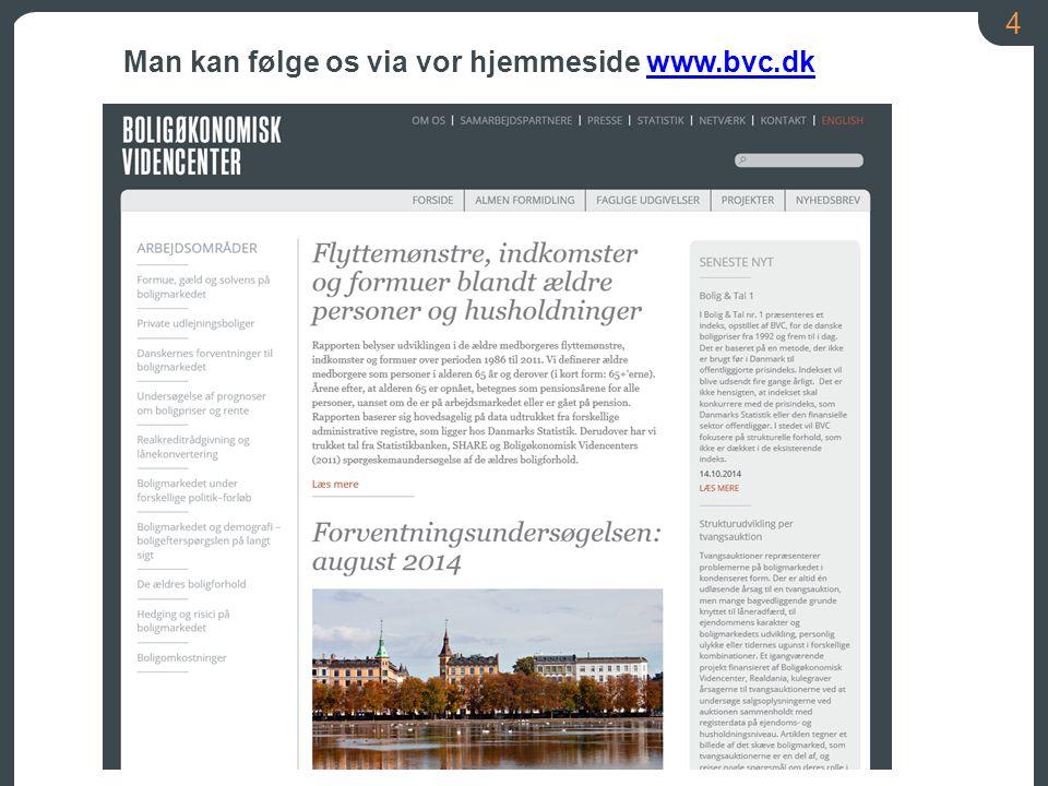 Man kan følge os via vor hjemmeside www.bvc.dk
