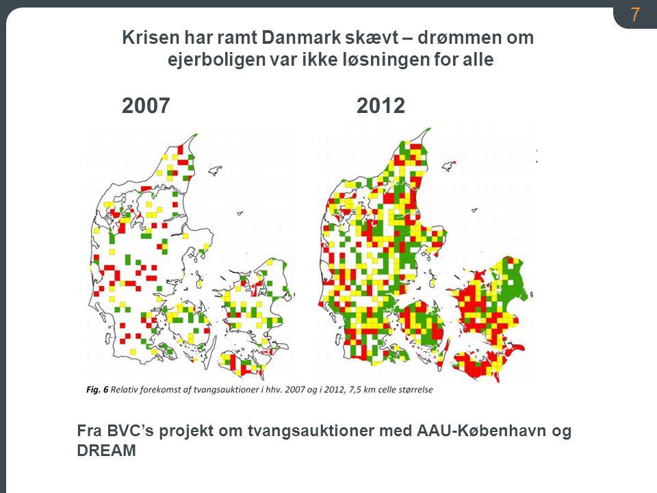 Krisen har ramt Danmark skævt – drømmen om