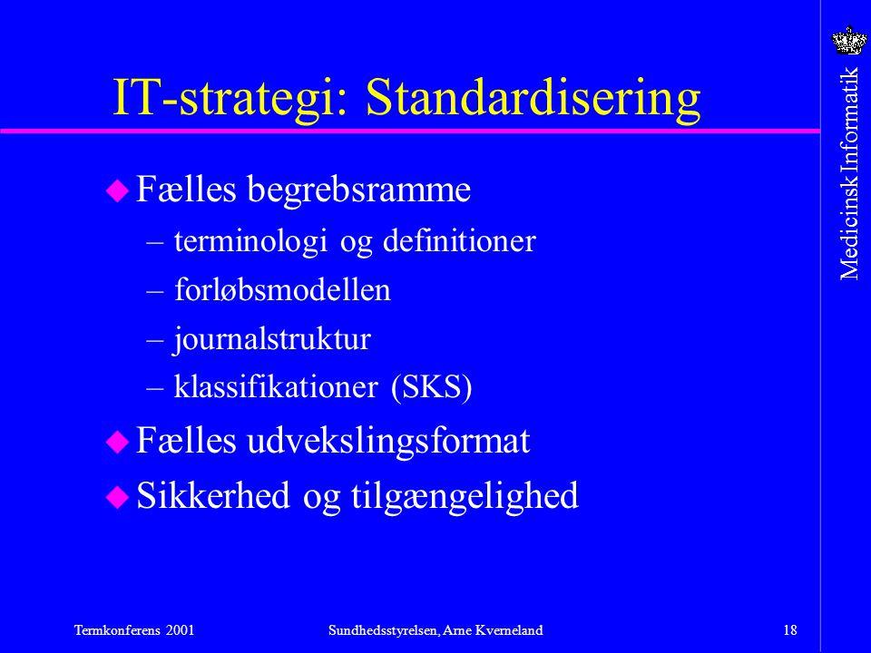 IT-strategi: Standardisering