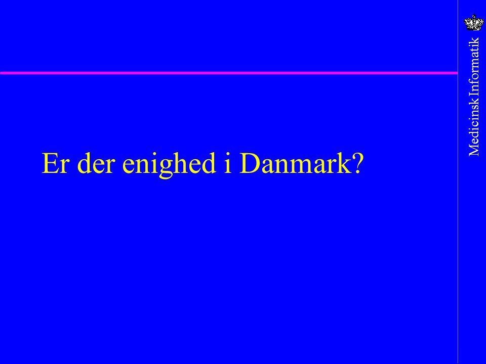 Er der enighed i Danmark