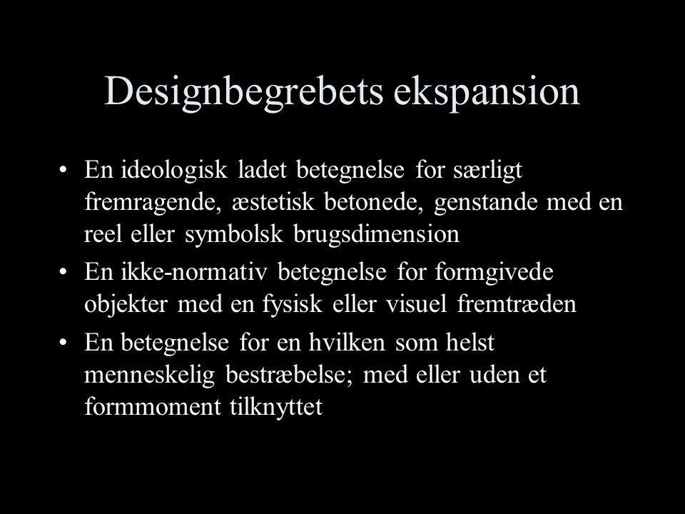 Designbegrebets ekspansion