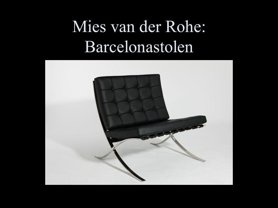 Mies van der Rohe: Barcelonastolen
