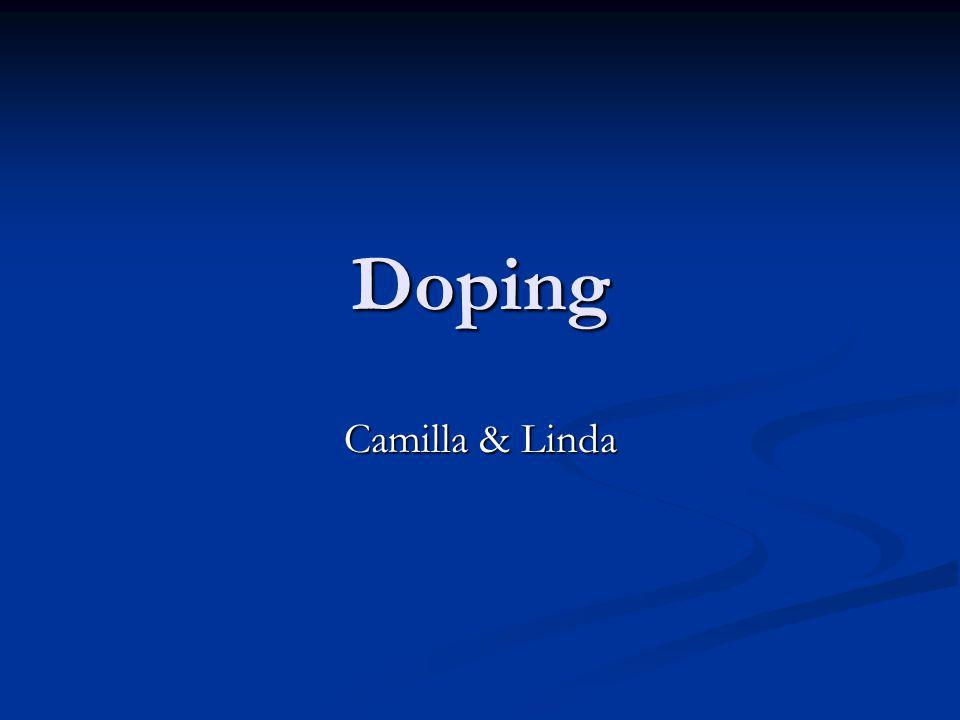 Doping Camilla & Linda