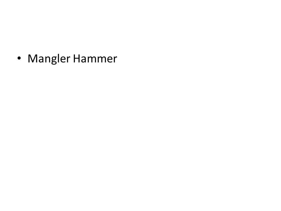 Mangler Hammer