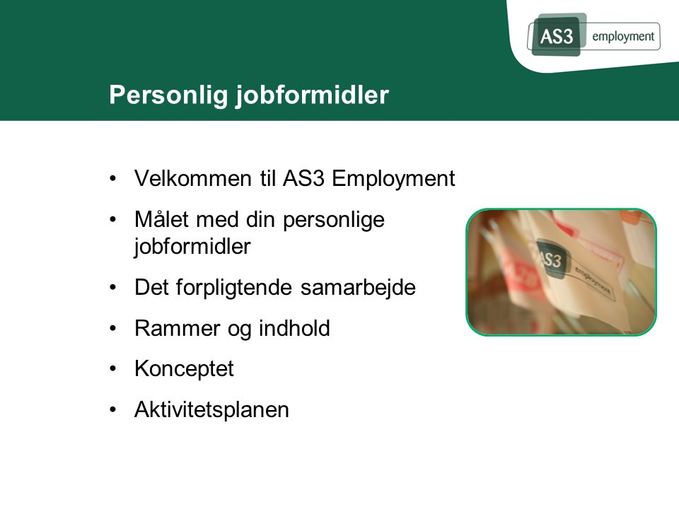 Personlig jobformidler