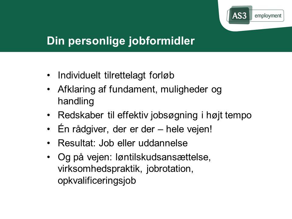 Din personlige jobformidler