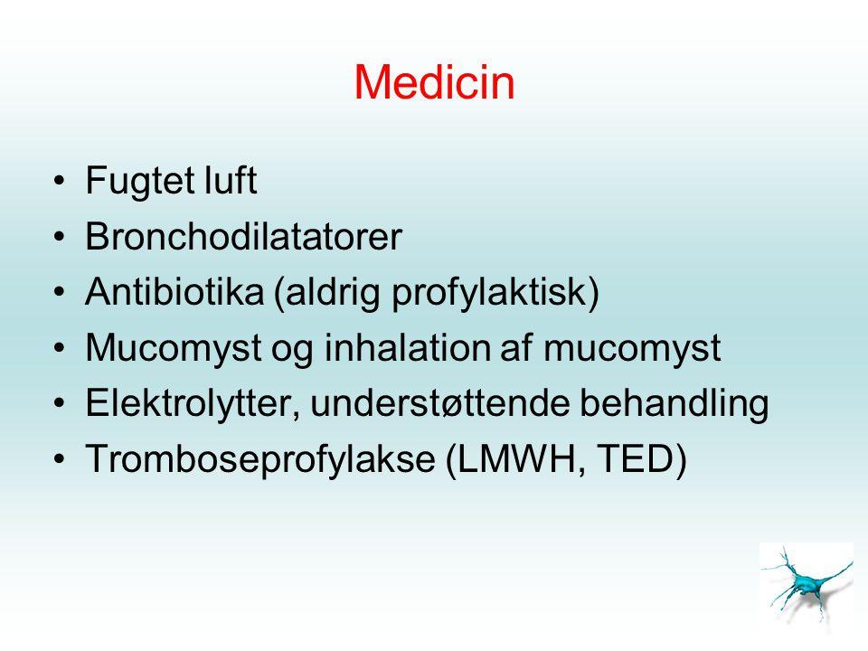 Medicin Fugtet luft Bronchodilatatorer