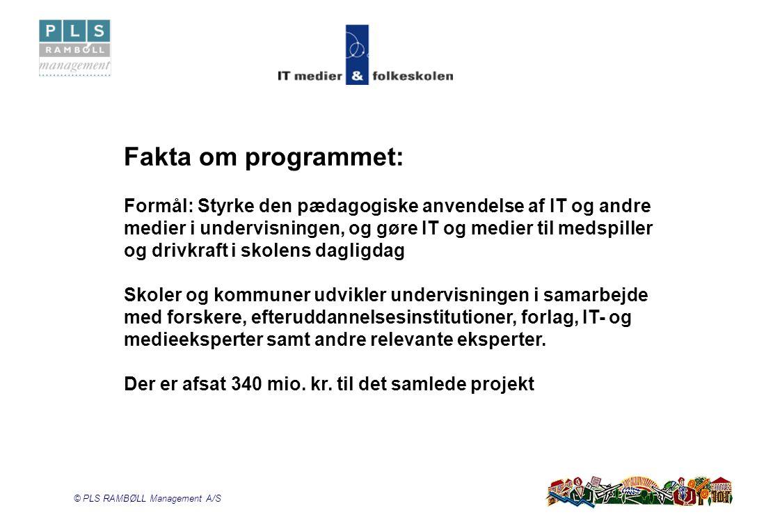 Fakta om programmet: