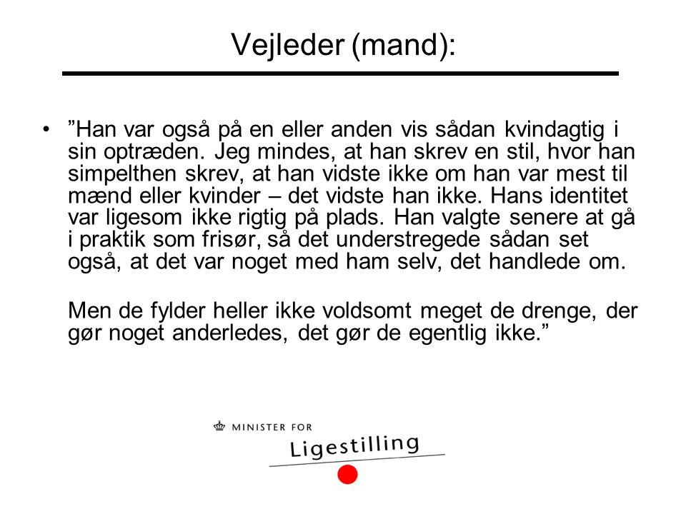 Vejleder (mand):