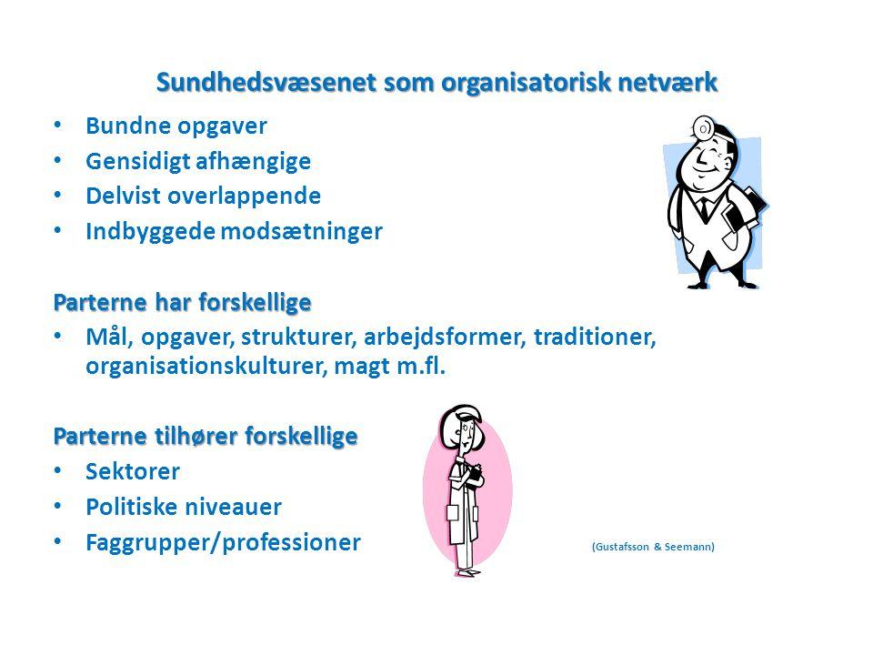 Sundhedsvæsenet som organisatorisk netværk
