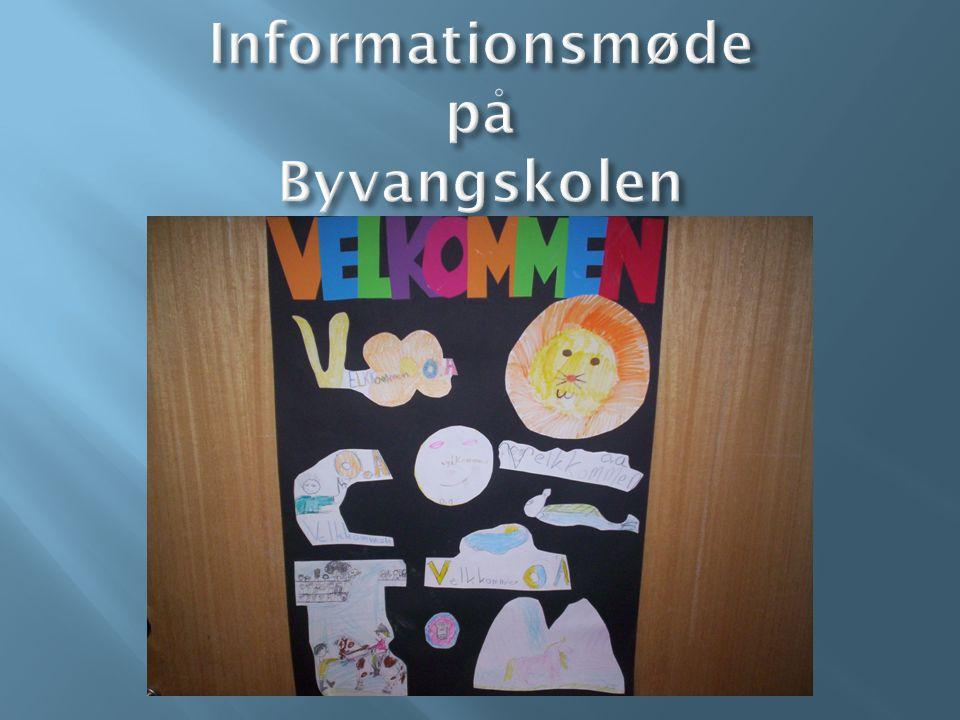 Informationsmøde på Byvangskolen