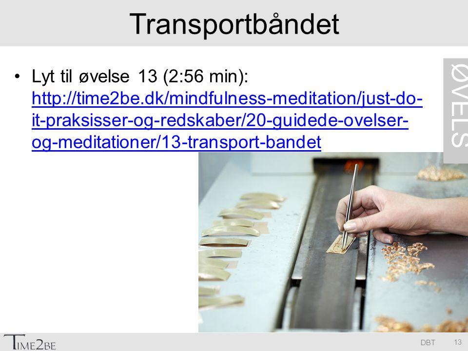Transportbåndet ØVELSE