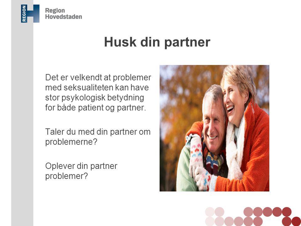 Husk din partner