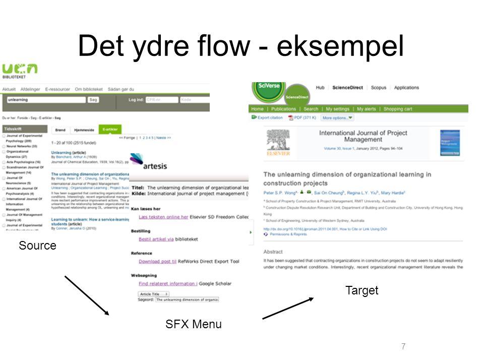 Det ydre flow - eksempel