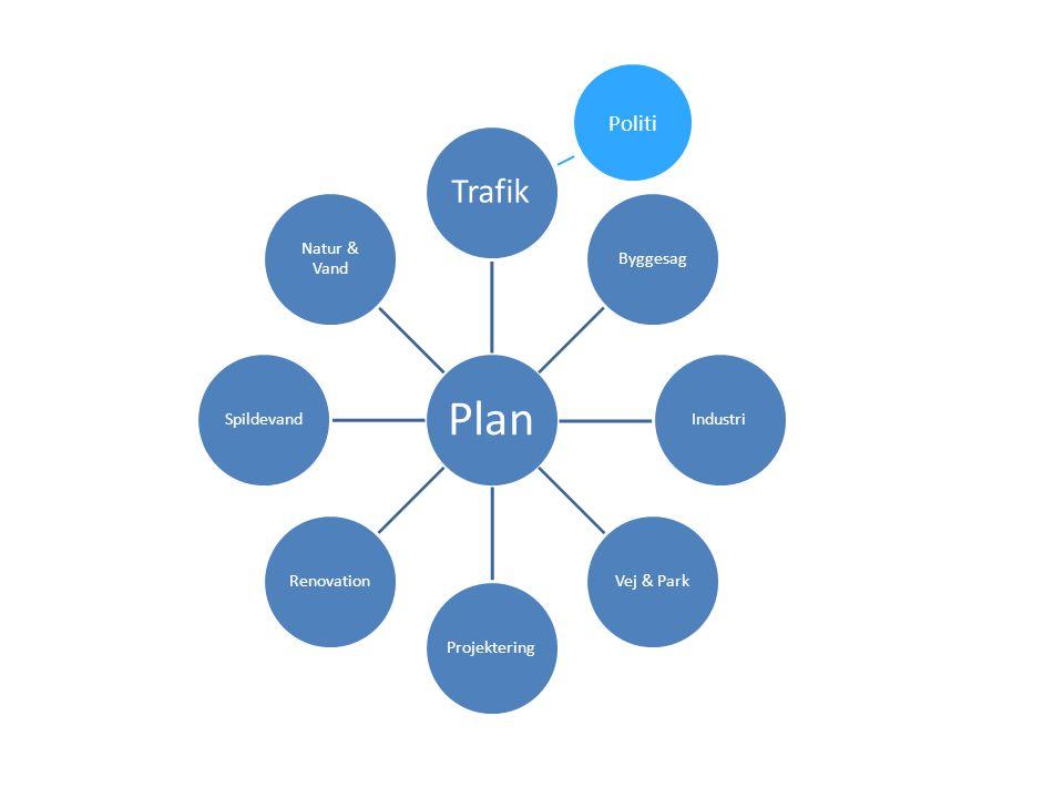 Trafik Politi Plan Byggesag Industri Vej & Park Projektering