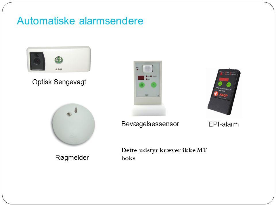 Automatiske alarmsendere