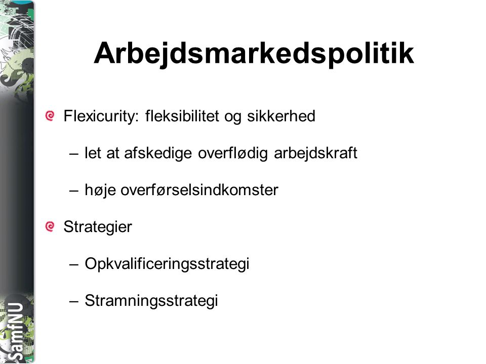 Arbejdsmarkedspolitik