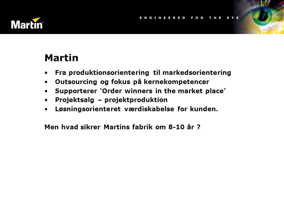Martin Fra produktionsorientering til markedsorientering