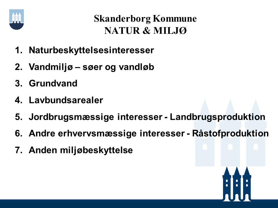 Skanderborg Kommune NATUR & MILJØ