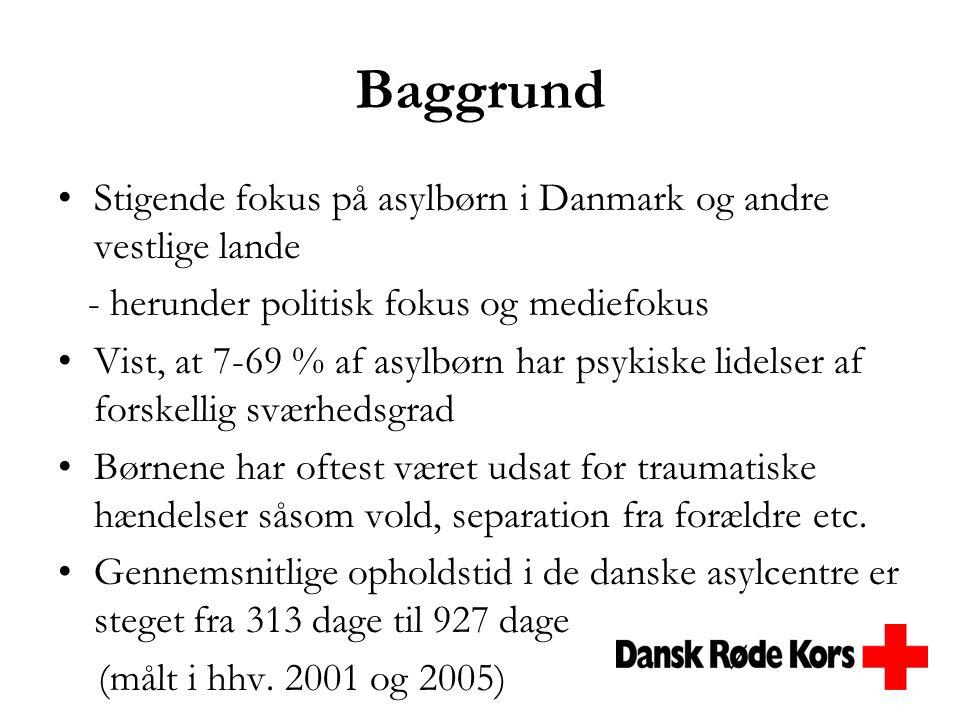 Baggrund Stigende fokus på asylbørn i Danmark og andre vestlige lande