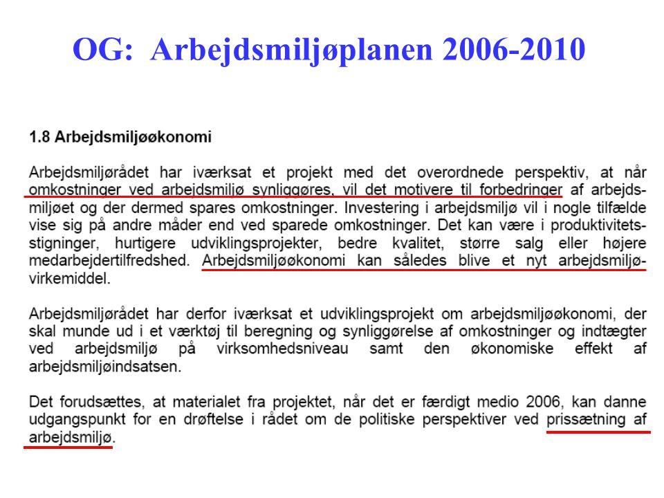 OG: Arbejdsmiljøplanen 2006-2010