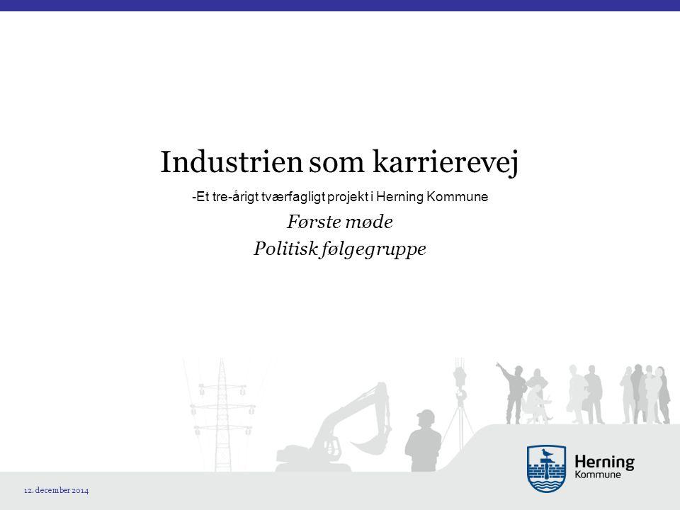 Industrien som karrierevej