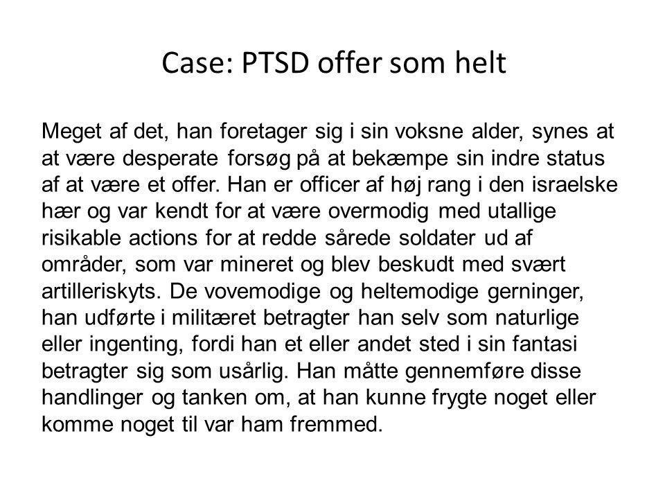 Case: PTSD offer som helt