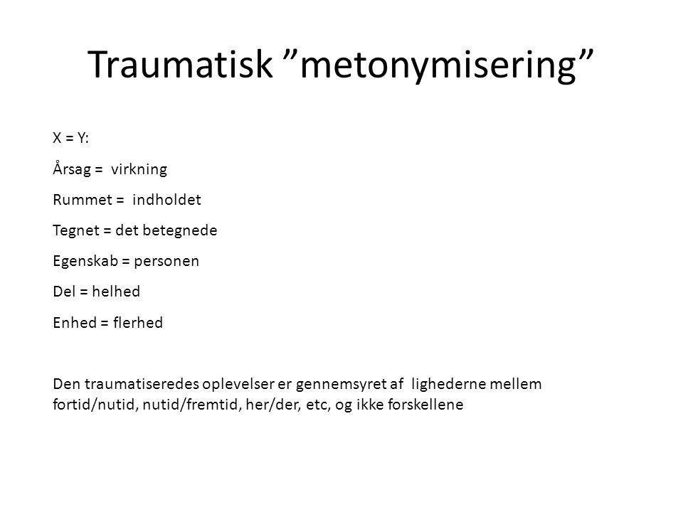 Traumatisk metonymisering