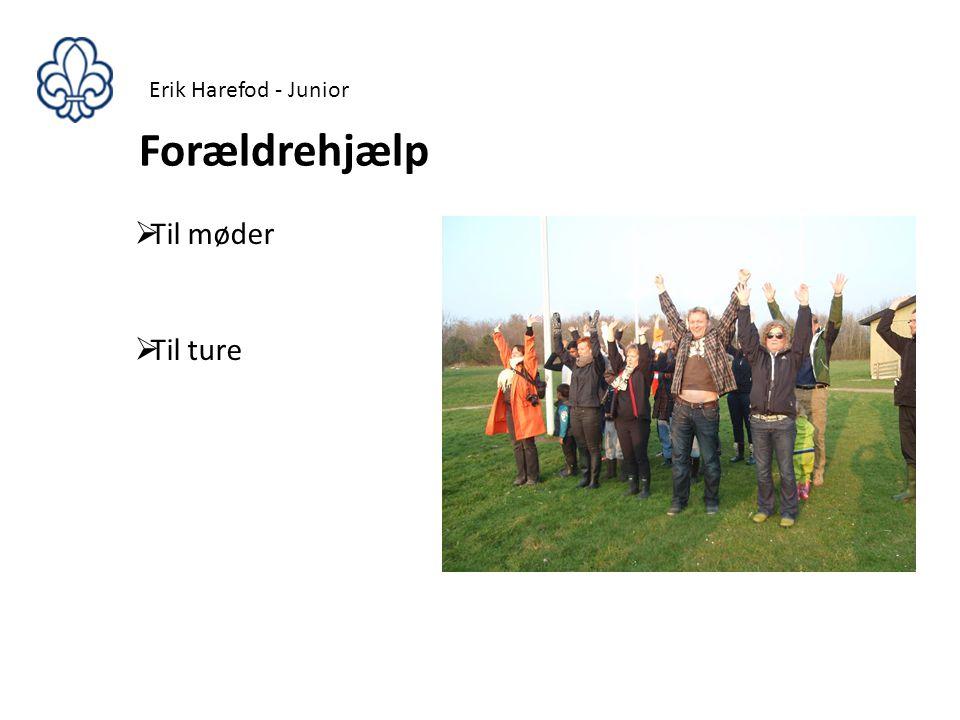 Erik Harefod - Junior Forældrehjælp Til møder Til ture