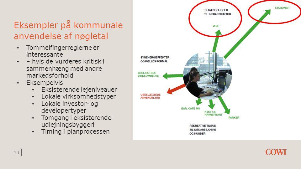Eksempler på kommunale anvendelse af nøgletal