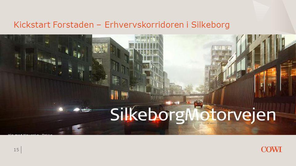 Kickstart Forstaden – Erhvervskorridoren i Silkeborg