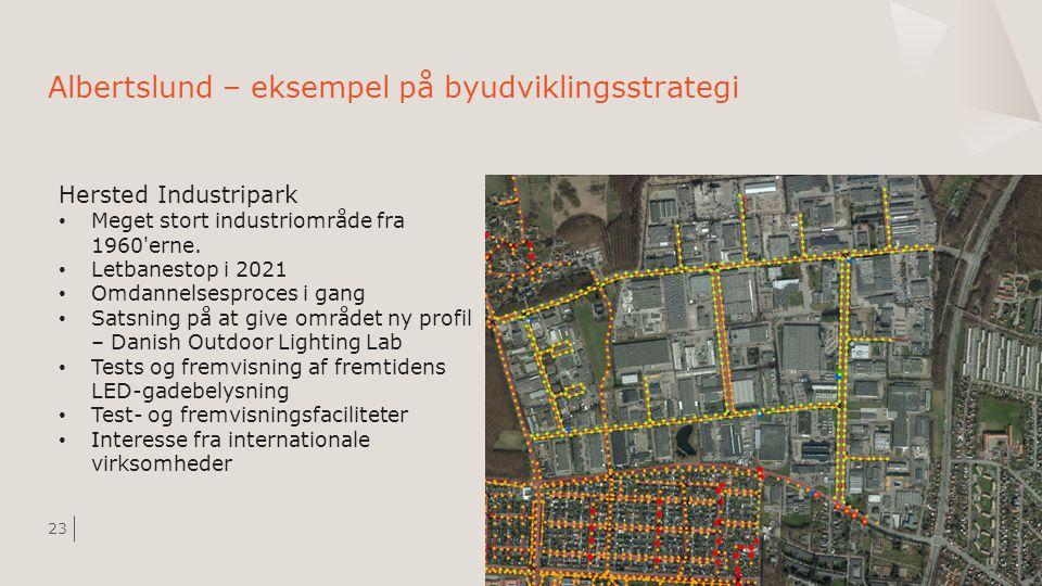 Albertslund – eksempel på byudviklingsstrategi
