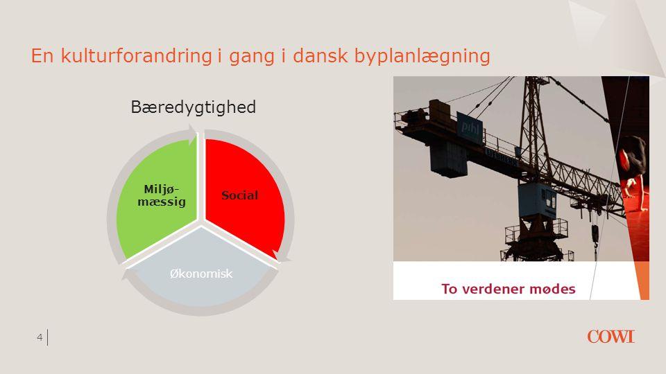 En kulturforandring i gang i dansk byplanlægning
