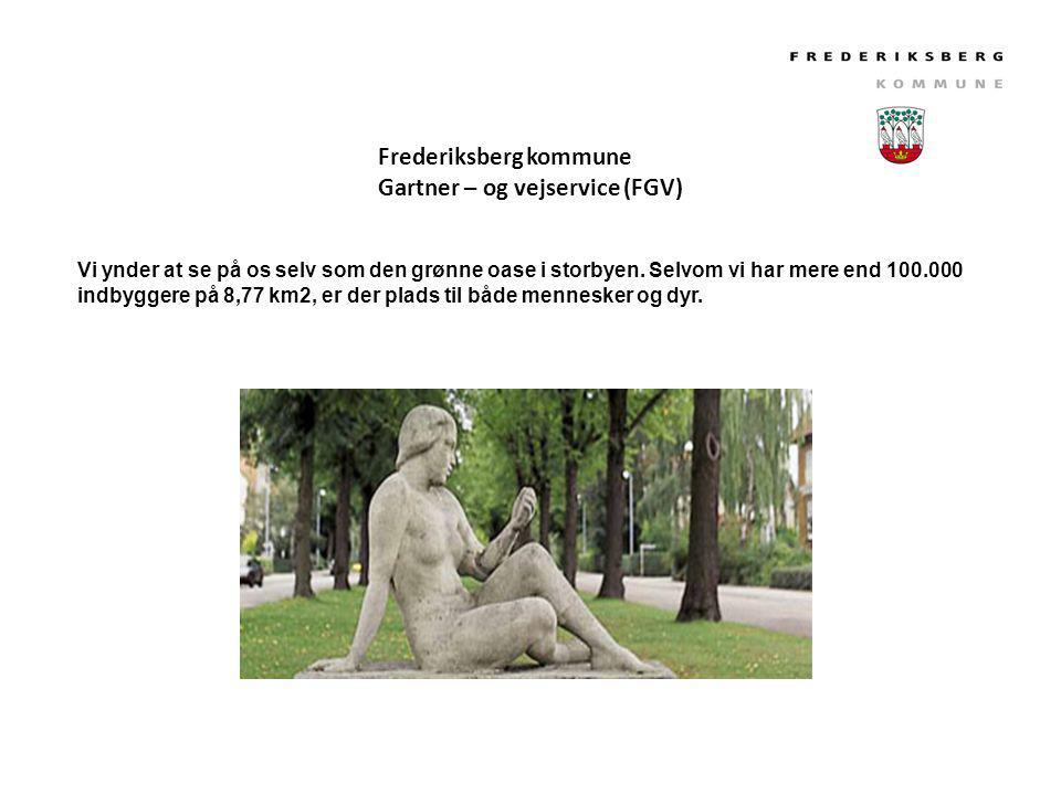Frederiksberg kommune Gartner – og vejservice (FGV)