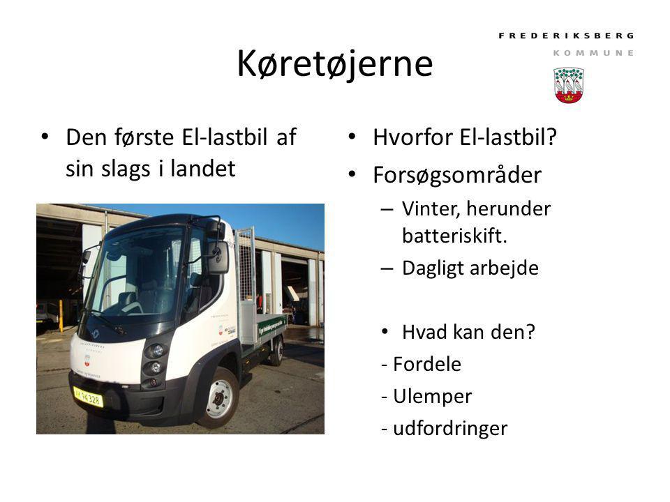Køretøjerne Den første El-lastbil af sin slags i landet