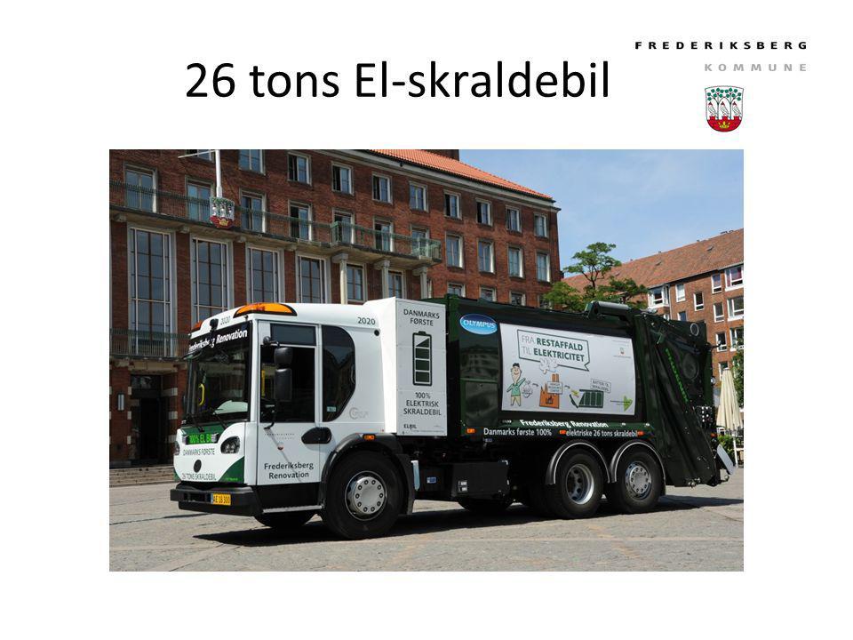 26 tons El-skraldebil