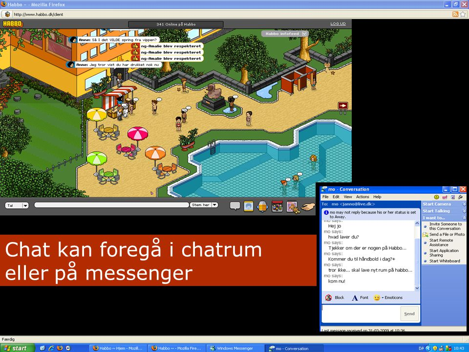 chatrum for voksne msn chat