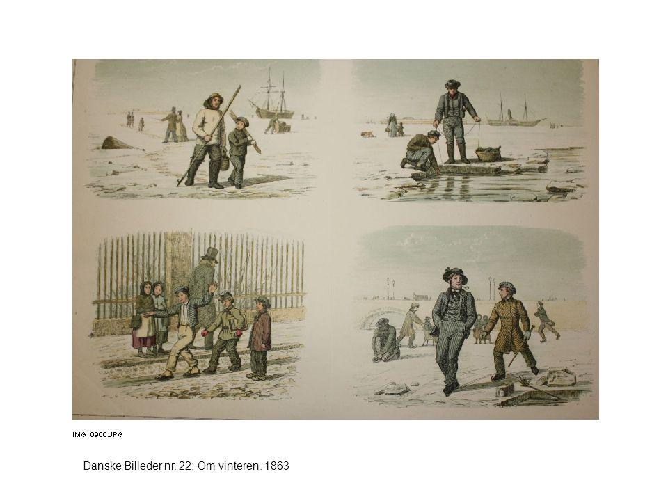Danske Billeder nr. 22: Om vinteren. 1863