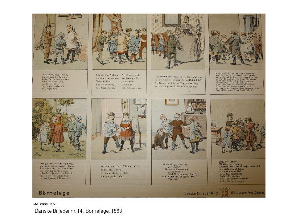 Danske Billeder nr. 14: Børnelege. 1863