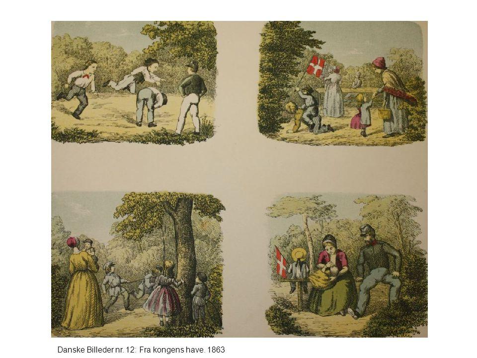 Danske Billeder nr. 12: Fra kongens have. 1863