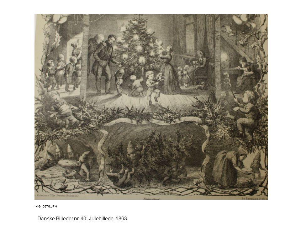 Danske Billeder nr. 40: Julebillede. 1863