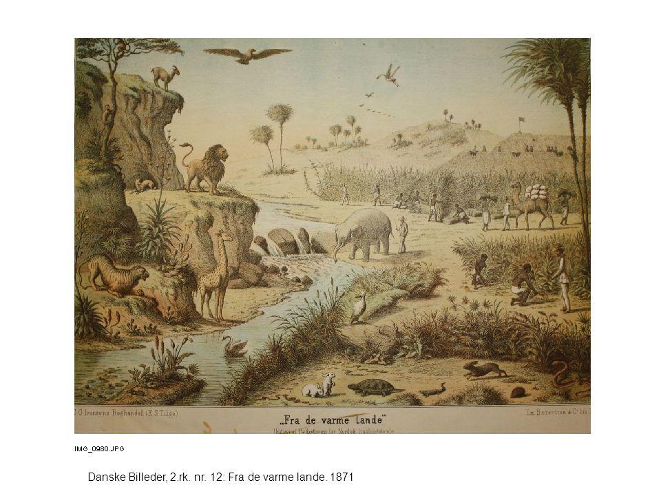 Danske Billeder, 2.rk. nr. 12: Fra de varme lande. 1871
