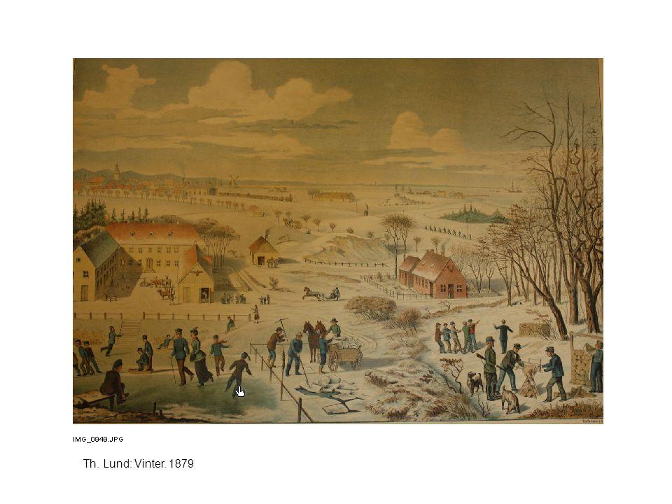 Th. Lund: Vinter. 1879