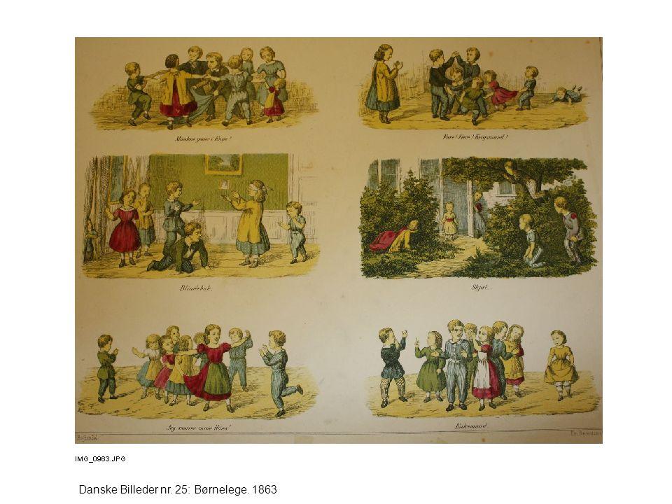 Danske Billeder nr. 25: Børnelege. 1863