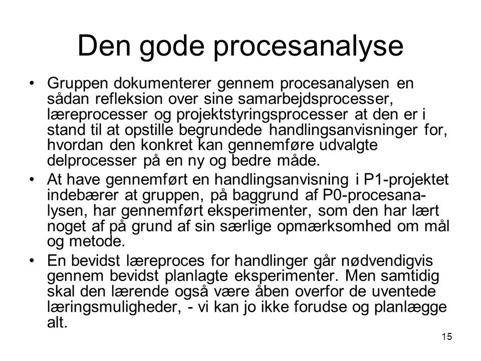 Den gode procesanalyse