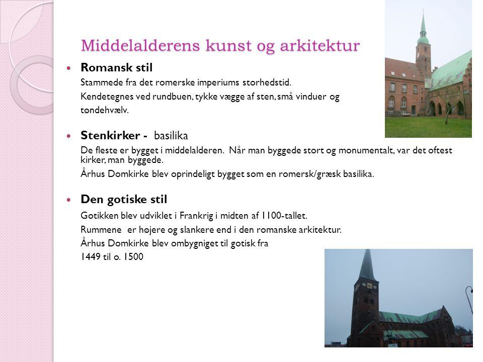 Middelalderens kunst og arkitektur