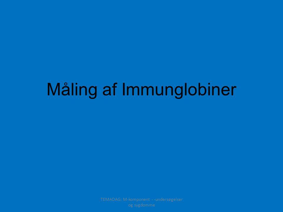 Måling af Immunglobiner