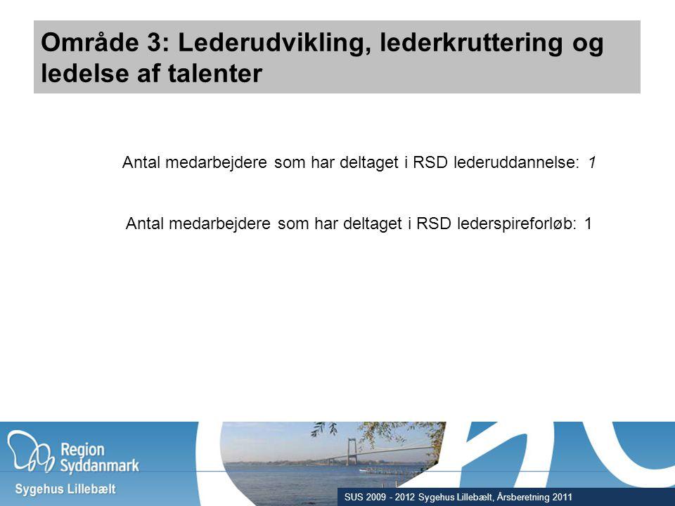 Område 3: Lederudvikling, lederkruttering og ledelse af talenter