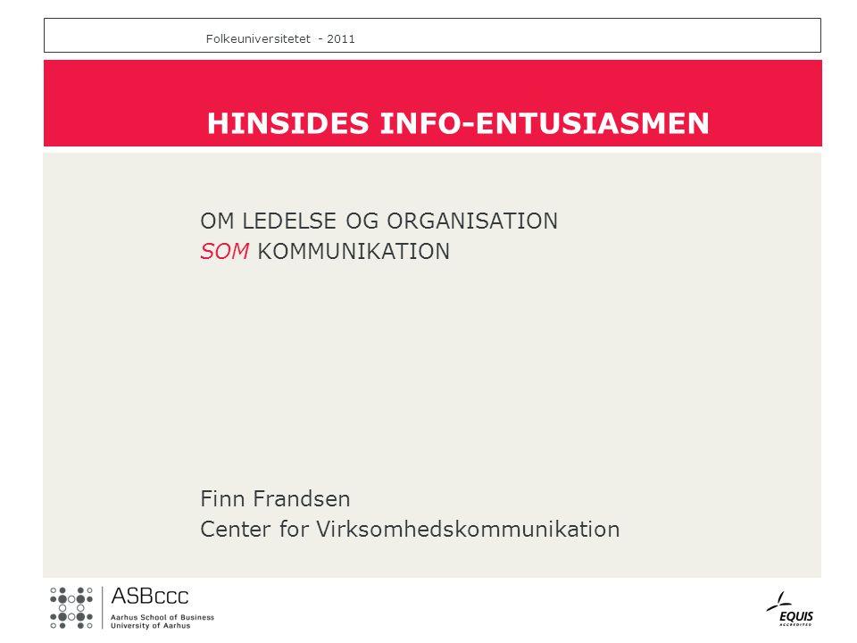 HINSIDES INFO-ENTUSIASMEN